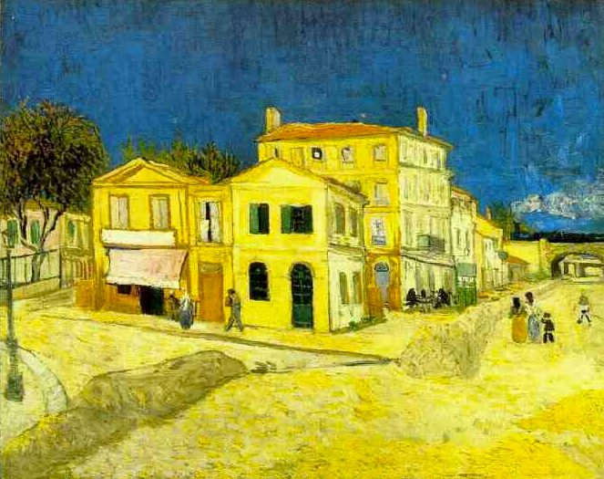 yellow house by van gogh