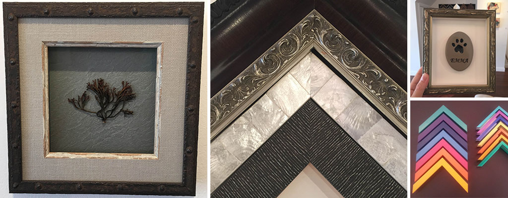 custom framing samples